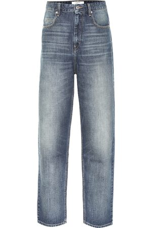 Isabel Marant Corsyj high-rise carrot jeans