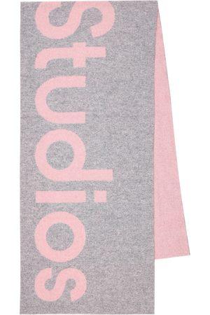Acne Studios Wool-blend scarf