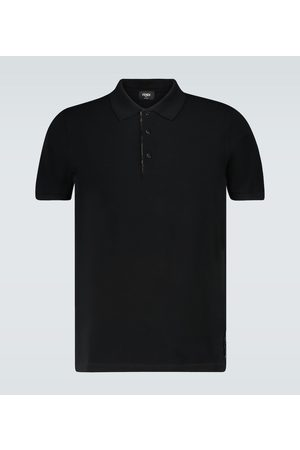 Fendi Polo shirt with FF placket