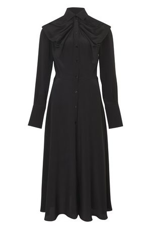 Patou Shirt dress with bow