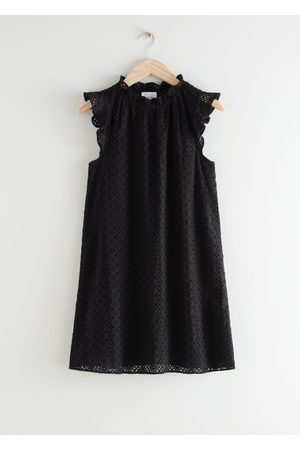 & OTHER STORIES Frilled Broderie Anglaise Mini Dress