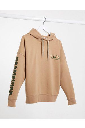 Quiksilver Boxy Fleeced hoodie in