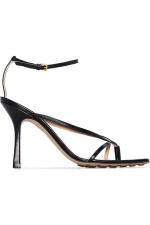 Bottega Veneta 95mm leather sandals