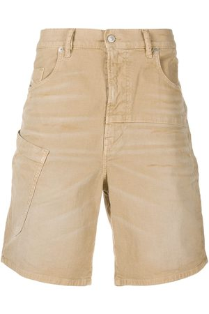 Diesel D-Azerr muli-pocket denim shorts - Neutrals