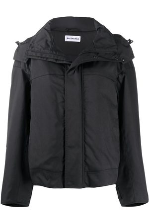 Balenciaga Upside Down oversized parka