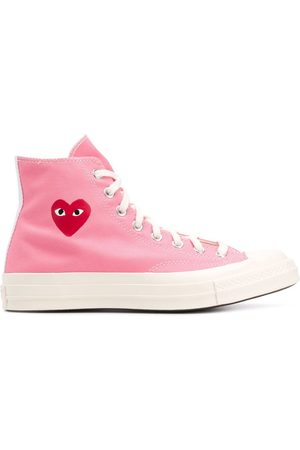 COMME DES GARÇONS PLAY X CONVERSE Sneakers - X Converse Chuck 70 high-top sneakers