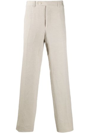CANALI Straight-fit trousers - Neutrals