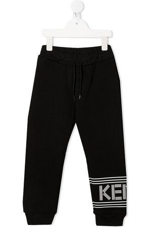 Kenzo Logo print track trousers
