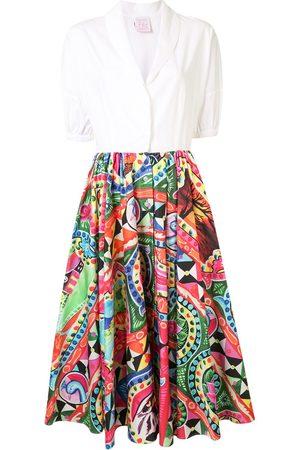Stella Jean Pop art print shirt dress