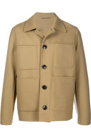 Ami Chest pockets shirt jacket - Neutrals