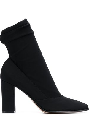 Gianvito Rossi Square-toe high-heel boots