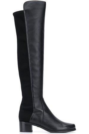 Stuart Weitzman Women Thigh High Boots - Reserve knee-high leather boots