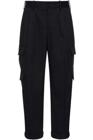 Neil Barrett Stretch Cotton Twill Cargo Pants