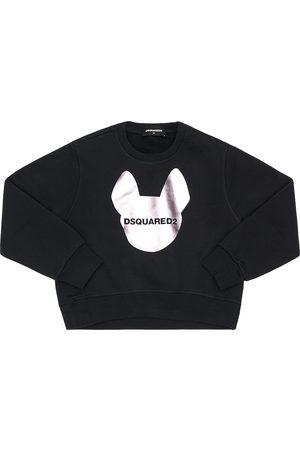 Dsquared2 Logo Print Cotton Sweatshirt