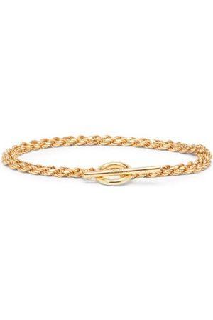 ALL BLUES Rope Double-chain -vermeil Bracelet - Mens