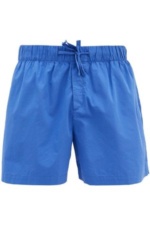 Tekla Drawstring-waist Cotton-poplin Pyjama Shorts - Mens