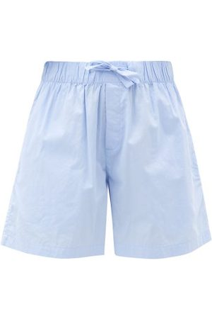 Tekla Organic-cotton Pyjama Shorts - Womens - Light