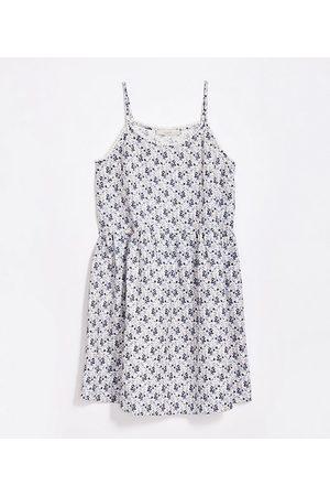 LOFT Women Casual Dresses - Floral Lacy Strappy Swing Dress