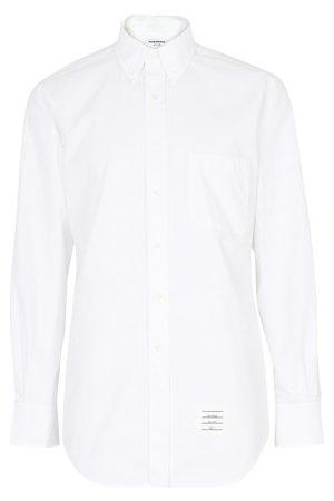 Thom Browne 4-Bar cotton shirt