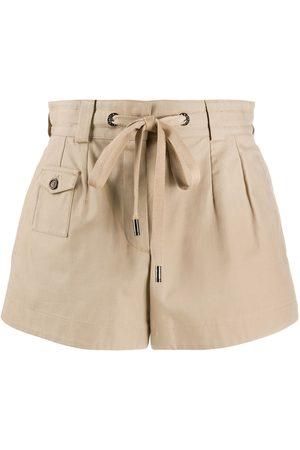 Dolce & Gabbana High-rise tie-waist shorts