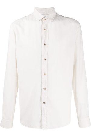 Brunello Cucinelli Plain long-sleeved shirt - Neutrals