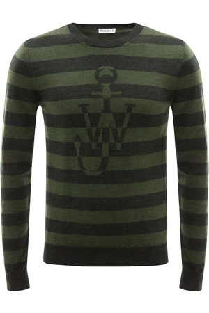 J.W.Anderson Striped logo jumper