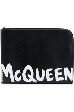 Alexander McQueen Logo-print document holder