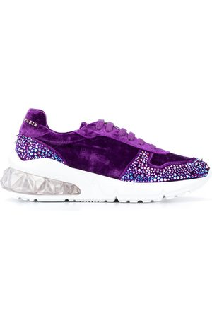 Philipp Plein Runner studded 20mm low-top sneakers