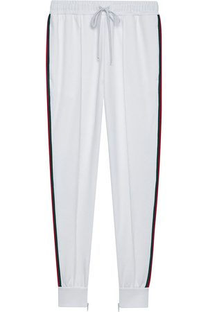 Gucci Logo patch track pants
