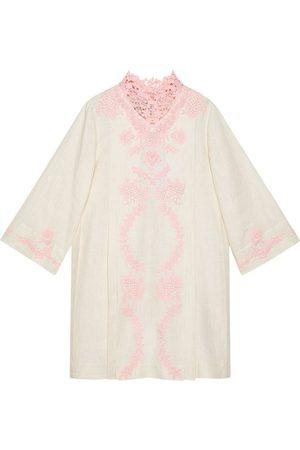 Gucci Women Beach Dresses - Lace kaftan dress