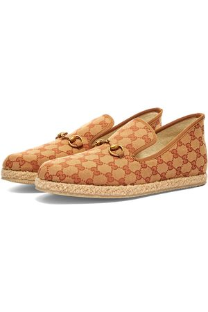 Gucci Fria GG Jaquard Wool Loafer