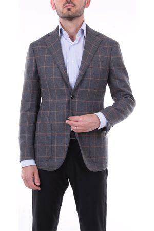 BARBA Men Blazers - Blazer Men Grey