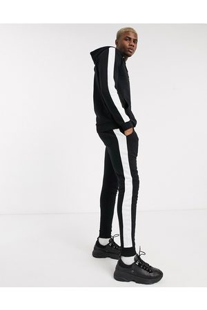 ASOS Tracksuit with side stripe in