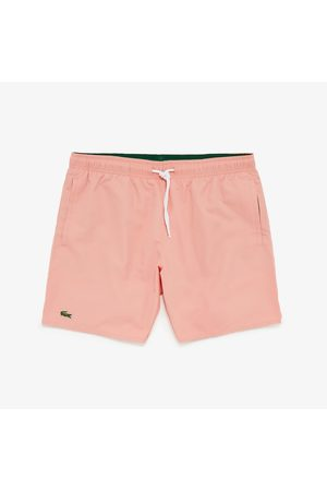 Lacoste Men Swim Shorts - Men's Quick-Dry Swim Shorts - S