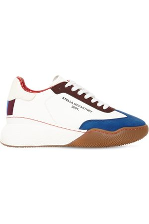 Stella McCartney 30mm Loop Sporty Faux Leather Sneakers