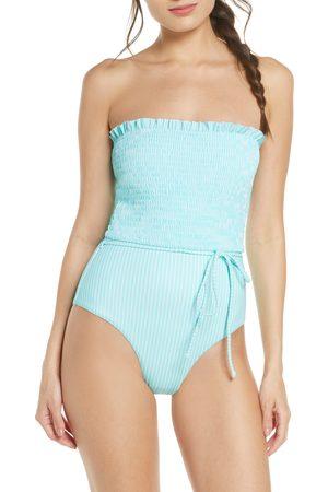 Chelsea Women's Smocked One-Piece Swimsuit