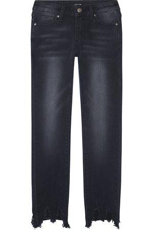 Joe's Girl's The Rocker Raw Hem Ankle Skinny Jeans