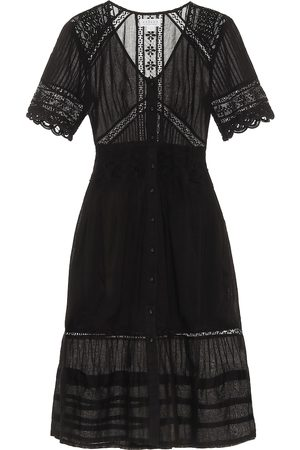 Velvet Suri cotton midi dress