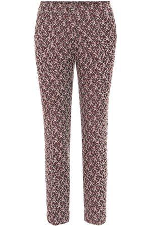 Etro Paisley mid-rise pants