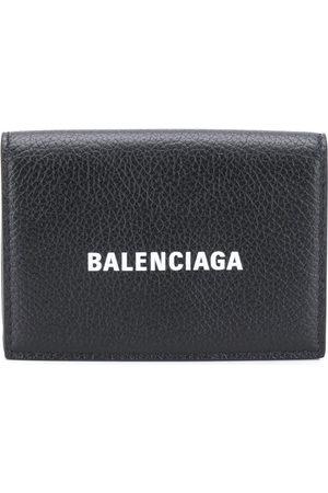 Balenciaga Logo-print tri-fold wallet