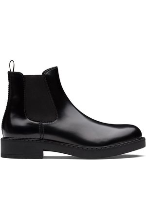 Prada Brushed Chelsea boots