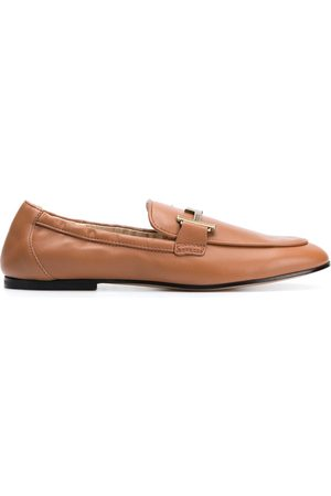 Tod's Double-T leather loafers - Neutrals