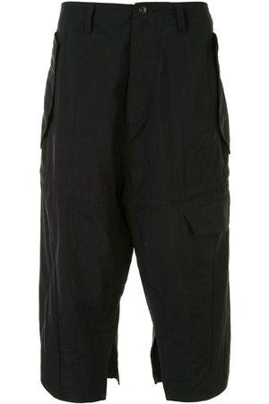 JULIUS Drop crotch multi-pocket trousers