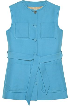 Gucci Patch-pocket belted vest