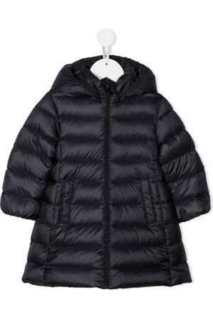 Moncler Puffer Jackets - Feather down hooded jacket