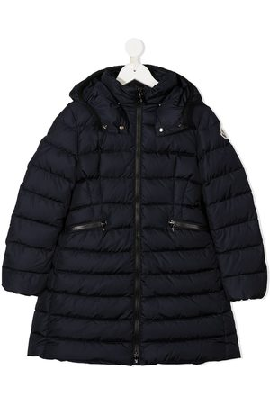 Moncler Girls Puffer Jackets - Hooded padded coat