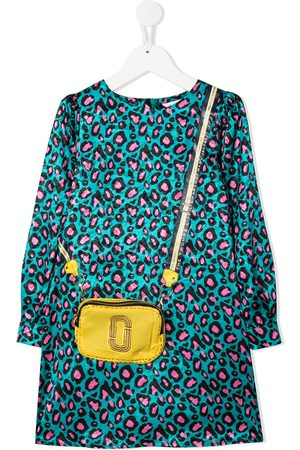 The Marc Jacobs Kids Crossbody bag-print dress