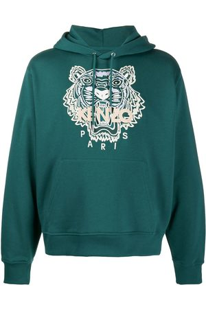Kenzo Tiger embroidered hoodie