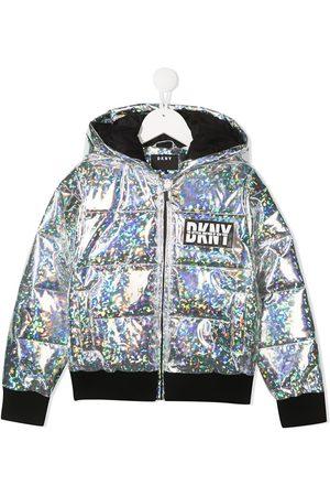 DKNY Girls Rainwear - Iridescent rain jacket