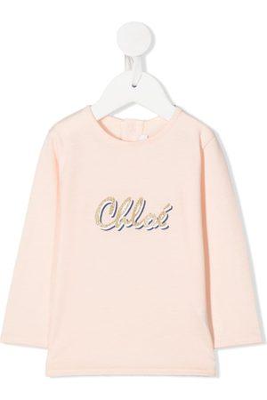 Chloé T-shirts - Logo print T-shirt